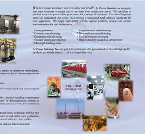 Process Capabilities Brochure Process Solutions